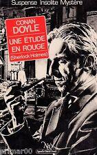 Sherlock HOLMES / Une étude en rouge / Collection le miroir obscur / Conan DOYLE