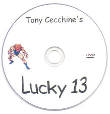Tony Cecchine Lucky 13- Furey Mma Judo Exercise Tsatsouline Conditioning Karate
