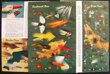 How To Tempt a Fish 1949 article Fly Fishing Lure Salt pictorial