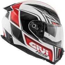 Casco Moto Integrale GIVI H40.5 x-fiber GP bianco nero rosso taglia M