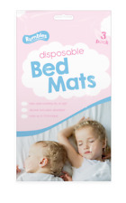 Rumbles Pack of 3 Disposable Children's Super absorbent Bed Mats