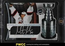 2008-09 UD The Cup Stanley Cup Signatures Martin Brodeur AUTO /50 #SCS-MB