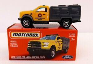 Matchbox Power Grab Series 21. Ford F150. Animal Truck New. Read Descriptive