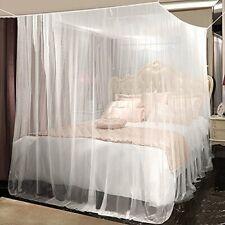 Moustiquaire Filet Anti Moustiques Insecte Grande Ciel de Lit Double à Baldaquin