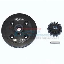 GPM Harden Steel #45 Rear Differential Ring Gear & Pinion Gear (3Pc) Blck : Maxx