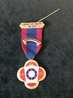 Sterling Silver Masonic Medal Lodge of Truth No 137 Centenary 1871 - 1971 Masons