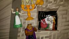2002 Beauty And The Beast McDonald's Happy Meal Toys
