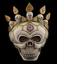 Large Mask Citipati Tête de Death Tantric 19 5/16in Himalayan Ritual Shaman