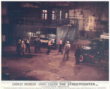 The Streetfigter Hard Times Original Lobby Card Charles Bronson batrechested