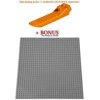 1 Authentic LEGO Separator. Plus Bonus Grey 10 x 10-inch compatible base plate