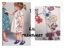 Knee Length All Seasons NEXT Dresses (2-16 Years) for Girls