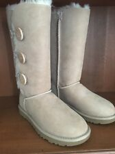 NEW 6 UGG Bailey Button Triplet  Boots Sand 1873