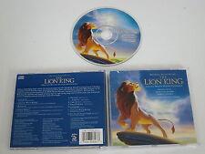 THE LION KING/SOUNDTRACK/ELTON JOHN/HANS ZIMMER(DISNEY 60858-7) CD ALBUM