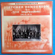 Fletcher Henderson-First Impressions (1924-1931) 1980 MCA COMP-RE- M/M   SEALED