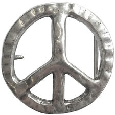 Gürtelschnalle Peace Gürtelschnalle Kontur