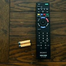 Sony RM-YD092 TV Remote Control w/ AAA Batteries Included!