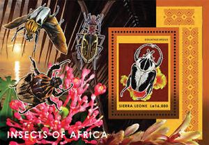Sierra Leone 2013 - Beetles Stamp - Souvenir Sheet - MNH