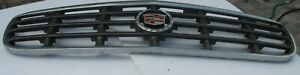 1997-1999 CADILLAC DEVILLE TOURING, FRONT GRILLE, GRILL USED OEM , NO CRACKS