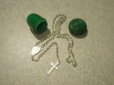 Chapelet Miniature - Étui gland en Bakelite