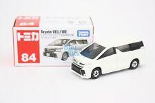Takara Tomy Tomica #84 Toyota Vellfire (1st) White Scale 1/65  Diecast Toy Car