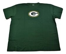 Majestic Big & Tall NFL Mens Green Bay Packers Football Shirt New 3XL, 4XLT, 5XL