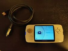 GP2X / GPH Caanoo w Power Cable - super rare white retro open source handheld
