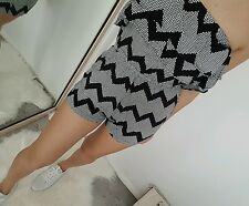 strapless patterned supre playsuit worn once size 8