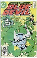 Blue Devil 1984 series # 25 very fine comic book