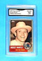 $90.00 Mickey Mantle GEM MINT 10 Topps Chrome 2007 Baseball Card Yankees #MMS23