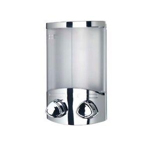 Croydex Euro Soap Dispenser Duo Chrome