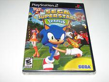 Sega Superstars Tennis (Sony PlayStation 2, 2008) PS2   ***BRAND NEW***