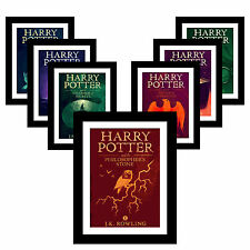 HARRY POTTER A3 Olly Moss Poster Print ALL 7 Highly Collectable - PRESENT GIFT