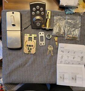 Kwikset Powerbolt2 Electronic Deadbolt Entry  Door Lock Satin Nickel 99070-101