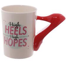 High Heels Stiletto Shoe Coffee Milk Mug Fashion Lady Tea Cup Shoe Lover Gift