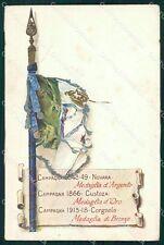 Militari Reggimentali VI Lancieri di Aosta Duval cartolina XF2145
