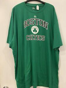 Boston Celtics Majestic Men's T-Shirt New 6XL