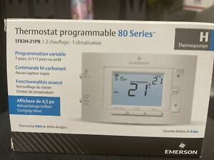 Emerson 7-Day Programmable Heat Pump (2H/1C) Thermostat