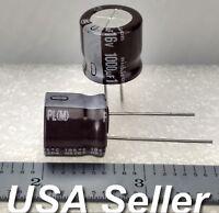 10 NOS 1000uF 16V  Nichicon UG Series SMT SMD electrolytic capacitors US Seller