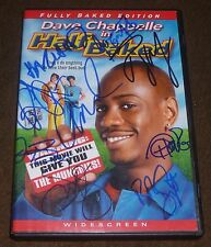 HALF BAKED DVD SIGNED BY 8 DAVE CHAPPELLE JIM BREUER HARLAND WILLIAMS SNOOP DOGG