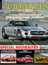 REVUE MAGAZINE AUTOMOBILES CLASSIQUES N°191 01/2010 ASTON MARTIN AUDI A8 MCLAREN