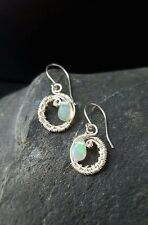 HANDMADE! Opal Gemstone Earrings 10103