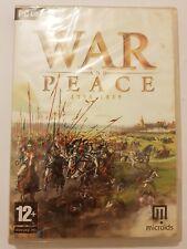 WAR and Peace  1796-1815 juego PC/Ordenador version Española NUEVO y SELLADO