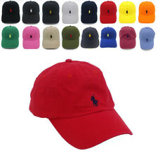Classic Polo Embroidery Pony Cap RL Baseball Chino Cotton Outdoor Sports Hat