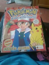 More details for merlin pokemon complete sticker album with wall chart