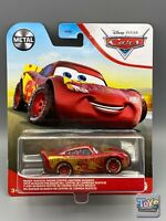 Disney Pixar Cars MUDDY RUSTEZE RACING CENTER LIGHTNING McQUEEN Metal Series 21