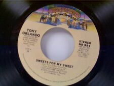 "TONY ORLANDO ""SWEETS FOR MY SWEET / HIGH STEPPIN"" 45 NEAR MINT"