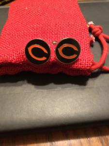 Chicago Bears Cufflinks