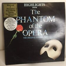 Highlight From 'The Phantom Of The Opera The Original London Cast' 1987 LP
