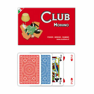 Modiano Club Ramino Playing Cards Set