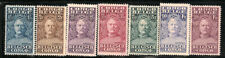 Belgian Congo Scott   123  -  129   Mint Hinged